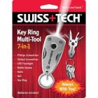 Swiss Tech Key Ring Multi-Tool 7in1