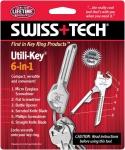 Swiss Tech Utili Key 6 in 1