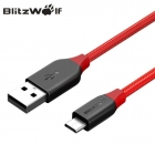 Кабель micro usb/type-c/lightning BlitzWolf