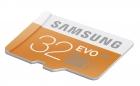 Карта памяти MicroSD Samsung 32Gb class 10 (UHS-I)