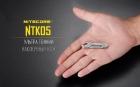Титановый нож-брелок Nitecore NTKO5