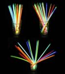 Новогодние светящиеся палочки (браслет)