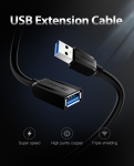 Кабель удлинитель Vention USB 3.0